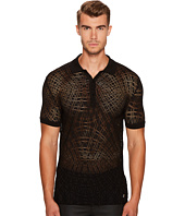 Versace Collection - Crochet Knit Polo