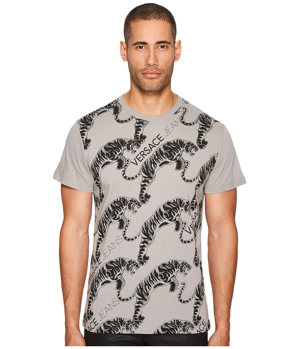 Versace Jeans Tiger Logo T-Shirt (Grey) Men