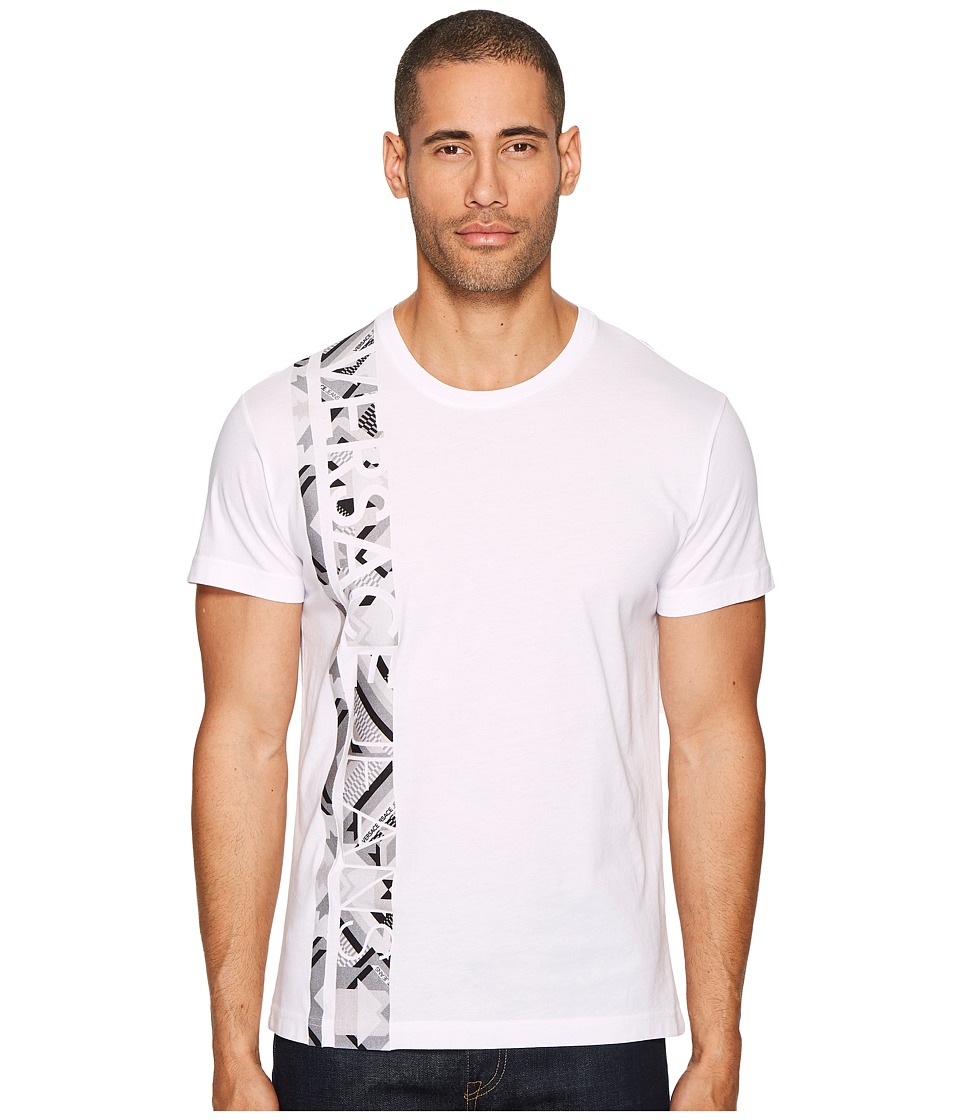 Versace Jeans Single Stripe T-Shirt (White) Men