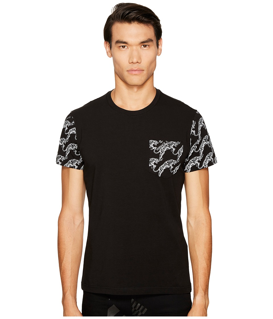 Versace Jeans Tiger Logo Pocket T-Shirt (Black) Men