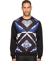Versace Jeans - Geometric Print Neoprene Sweatshirt