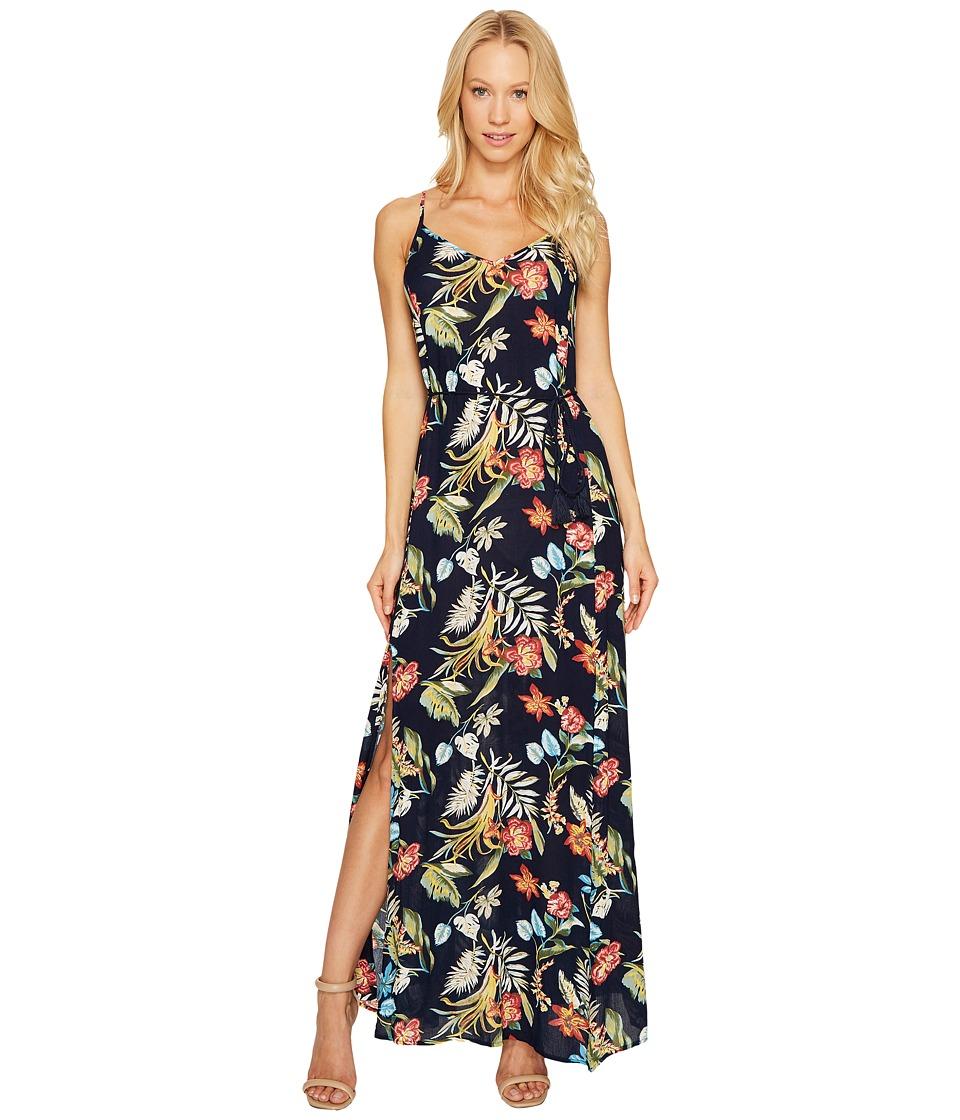 Brigitte Bailey Addilyn Sleeveless Maxi Dress (Navy) Women