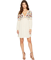 Brigitte Bailey - Aubrie Long Sleeve Embroidered Dress