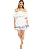 Brigitte Bailey - Halee Off the Shoulder Embroidered Dress