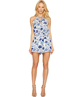 Brigitte Bailey - Zoie Sleeveless Lace-Up Romper