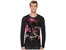 Versace Jeans Tiger Graphic Long Sleeve Tee