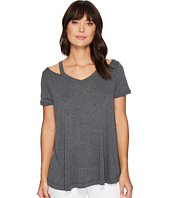 Culture Phit - Lacey Short Sleeve Cut Out Top
