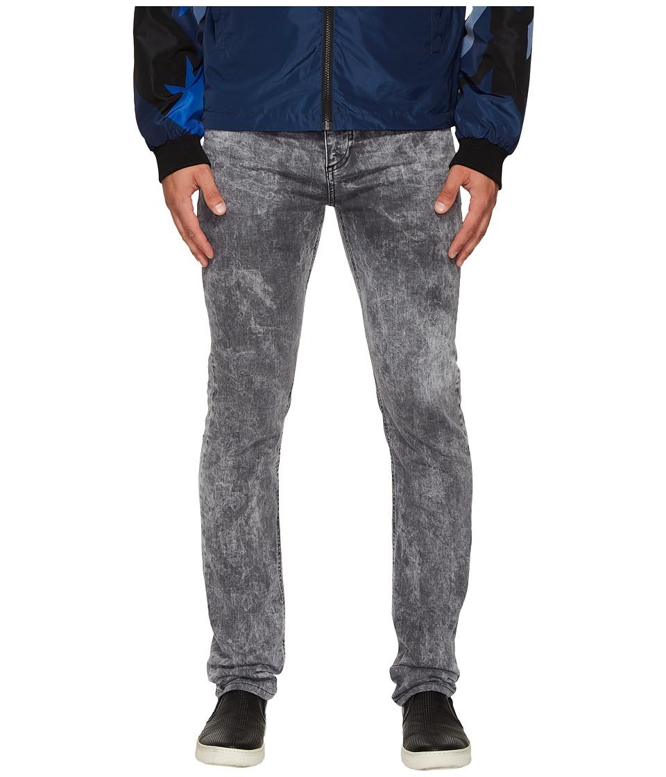 Versace Jeans Slim Fit Jeans in Medium Grey Wash (Medium Grey Wash) Men