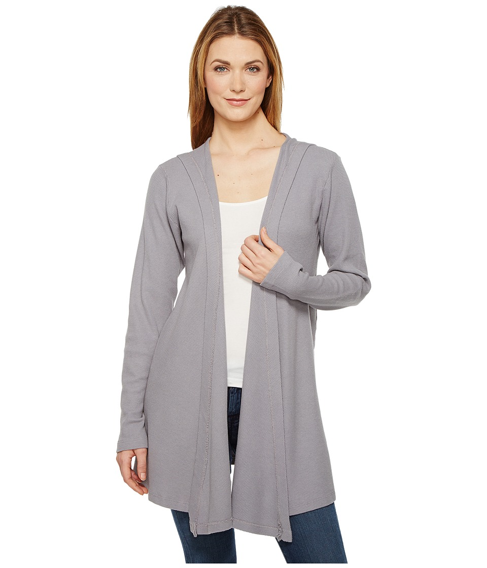 Allen Allen - Hooded Open Cardigan
