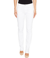 J Brand - Amelia Mid-Rise Straight in Blanc