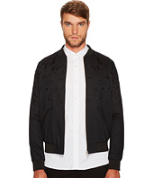 The Kooples - Flower-Embroidered Bomber Jacket