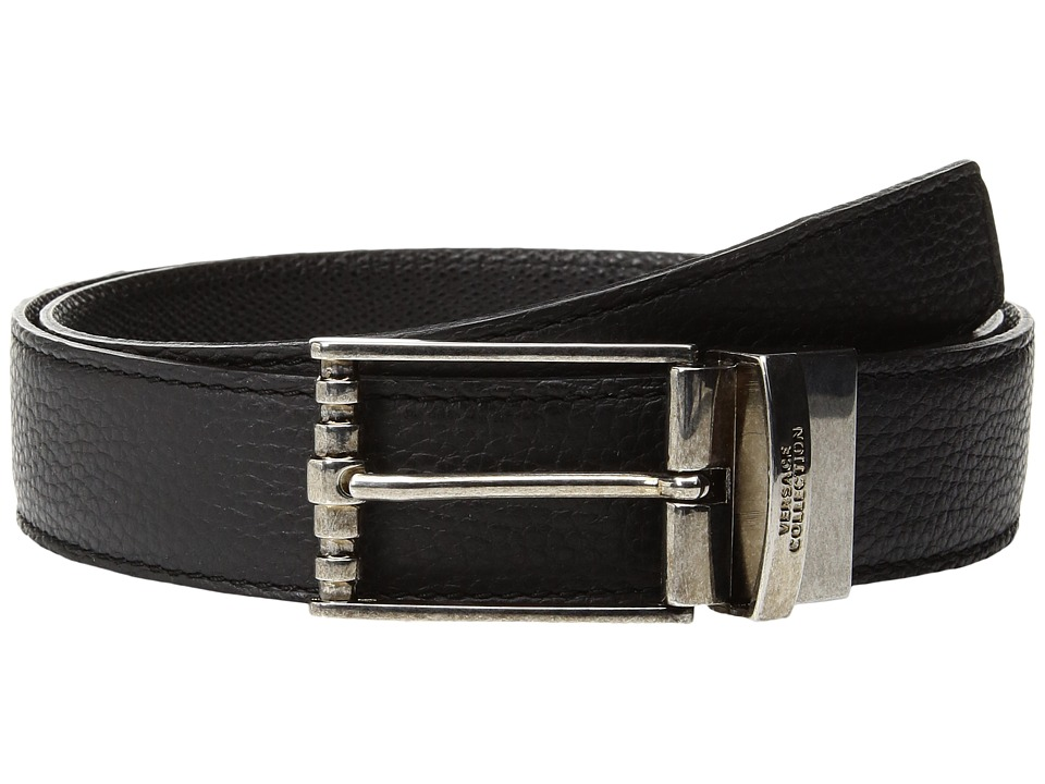 Versace Collection - Classic Belt (Black) Mens Belts