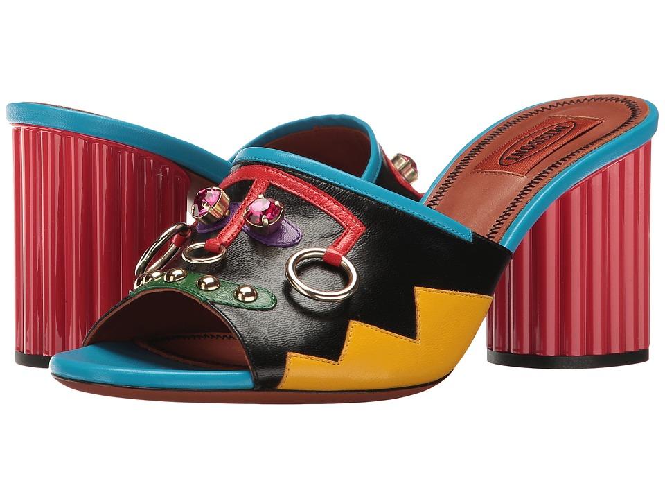 Missoni Ornament Heeled Slide (Combo) Women