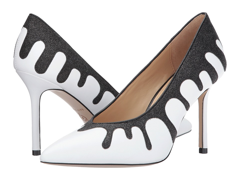 Pin Up Shoes- Heels & Flats Katy Perry - The Cecilia Black Womens Shoes $90.99 AT vintagedancer.com