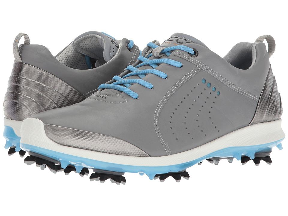 ECCO Golf BIOM G 2 Free (Wild Dove/Sky Blue) Women's Golf Shoes