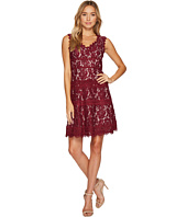 Adrianna Papell - Cynthia Lace Fit and Flare Dress