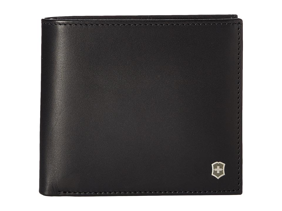 Victorinox - Altius Edge Pythagoras Deluxe Bifold Organizer w/ RFID (Black) Bi-fold Wallet