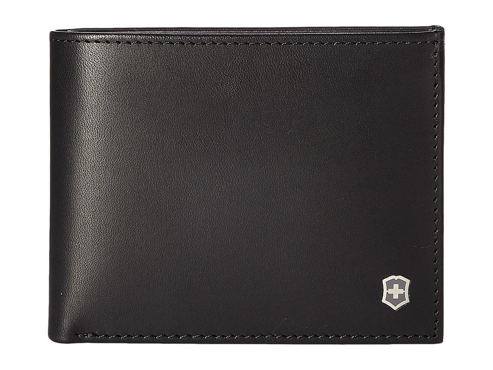 Victorinox - Altius Edge Appolonios Slim Bifold Wallet w/ RFID (Black) Bi-fold Wallet