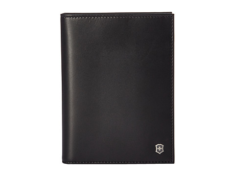Victorinox Altius Edge Leibnitz Passport Cover w/ RFID - Black