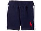 Ralph Lauren Baby - Atlantic Terry Big Pony Polo Shorts (Infant)