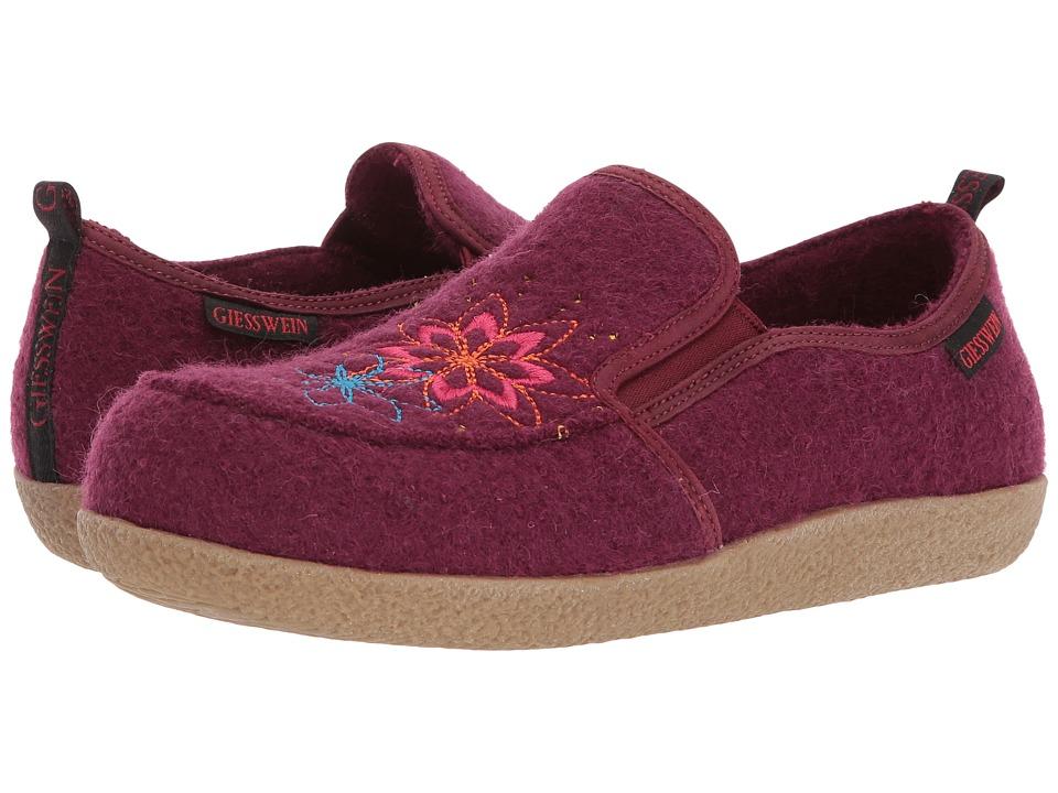 Giesswein - Clara (Bordeaux) Womens Slippers