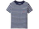 Polo Ralph Lauren Kids - Yarn-Dyed Slub Jersey Pocket Tee (Toddler)