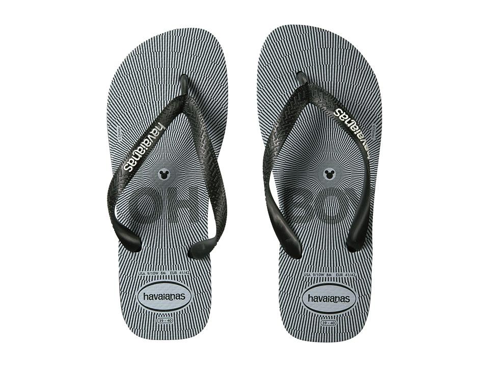 Havaianas - Top Millennial Mickey Sandal (Black) Women's Sandals
