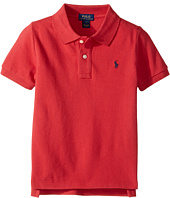 Polo Ralph Lauren Kids - Basic Mesh Short Sleeve Knit Collar Top (Little Kids/Big Kids)