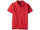 Polo Ralph Lauren Kids - Basic Mesh Short Sleeve Knit Collar Top (Little Kids/Big Kids)