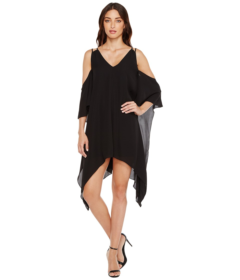 Adelyn Rae - Fiona Woven Shift Dress (Black) Womens Dress