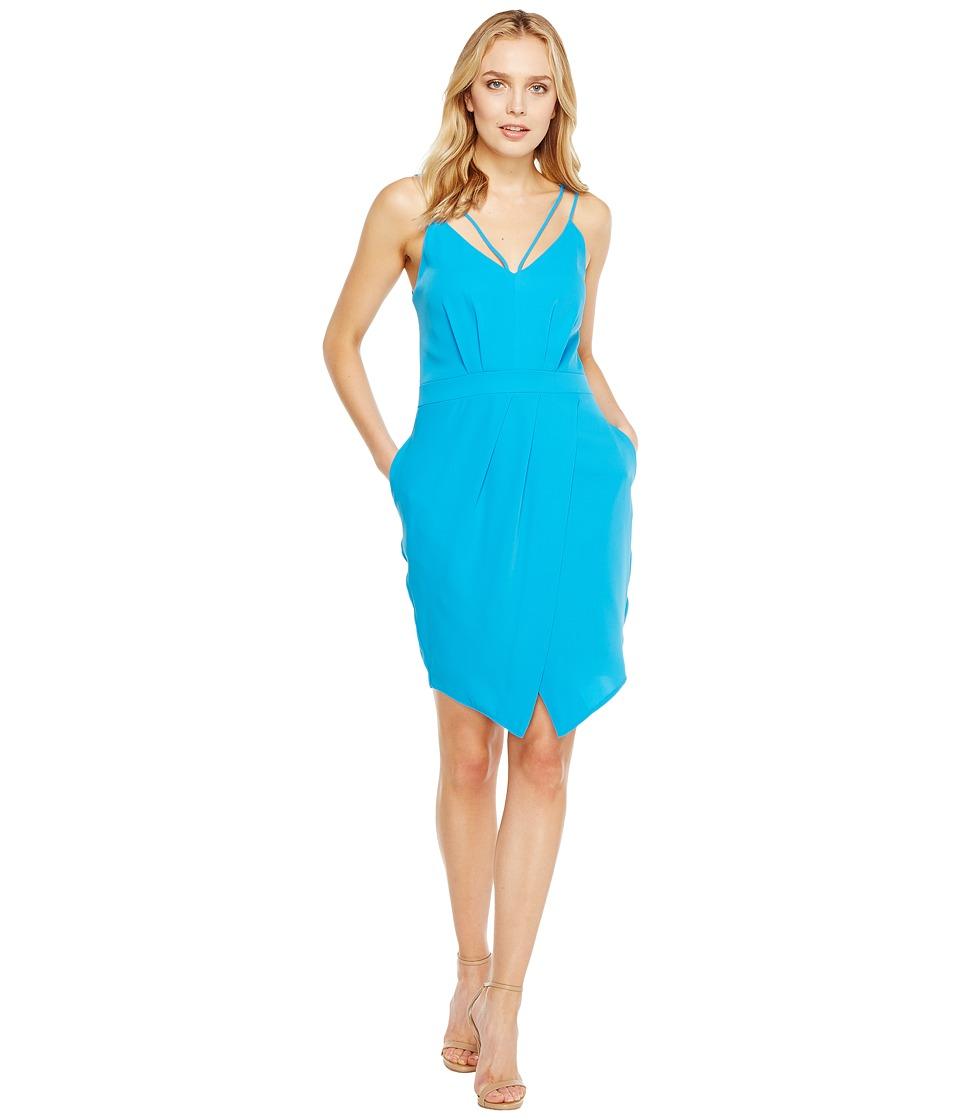 Adelyn Rae - Noemi V-Neck Sheath Dress
