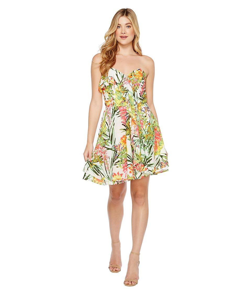 Adelyn Rae - Leanna Woven Strapless Dress