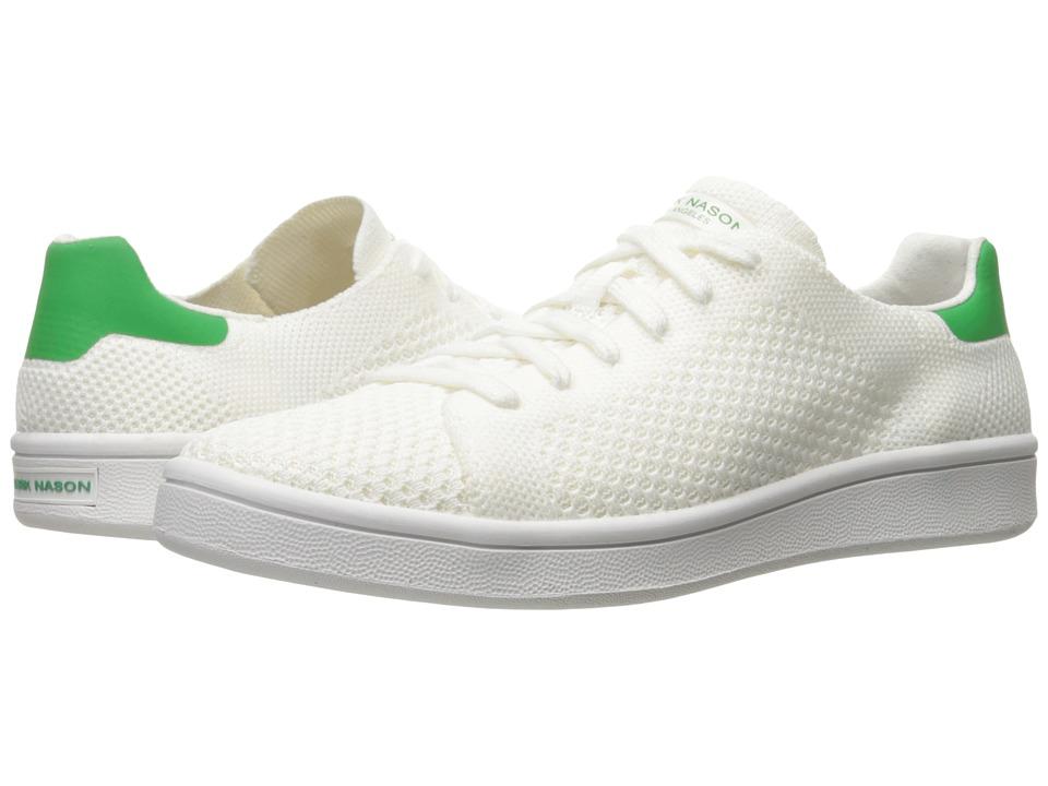 Mark Nason - Bradbury (White/Green) Womens Lace up casual Shoes