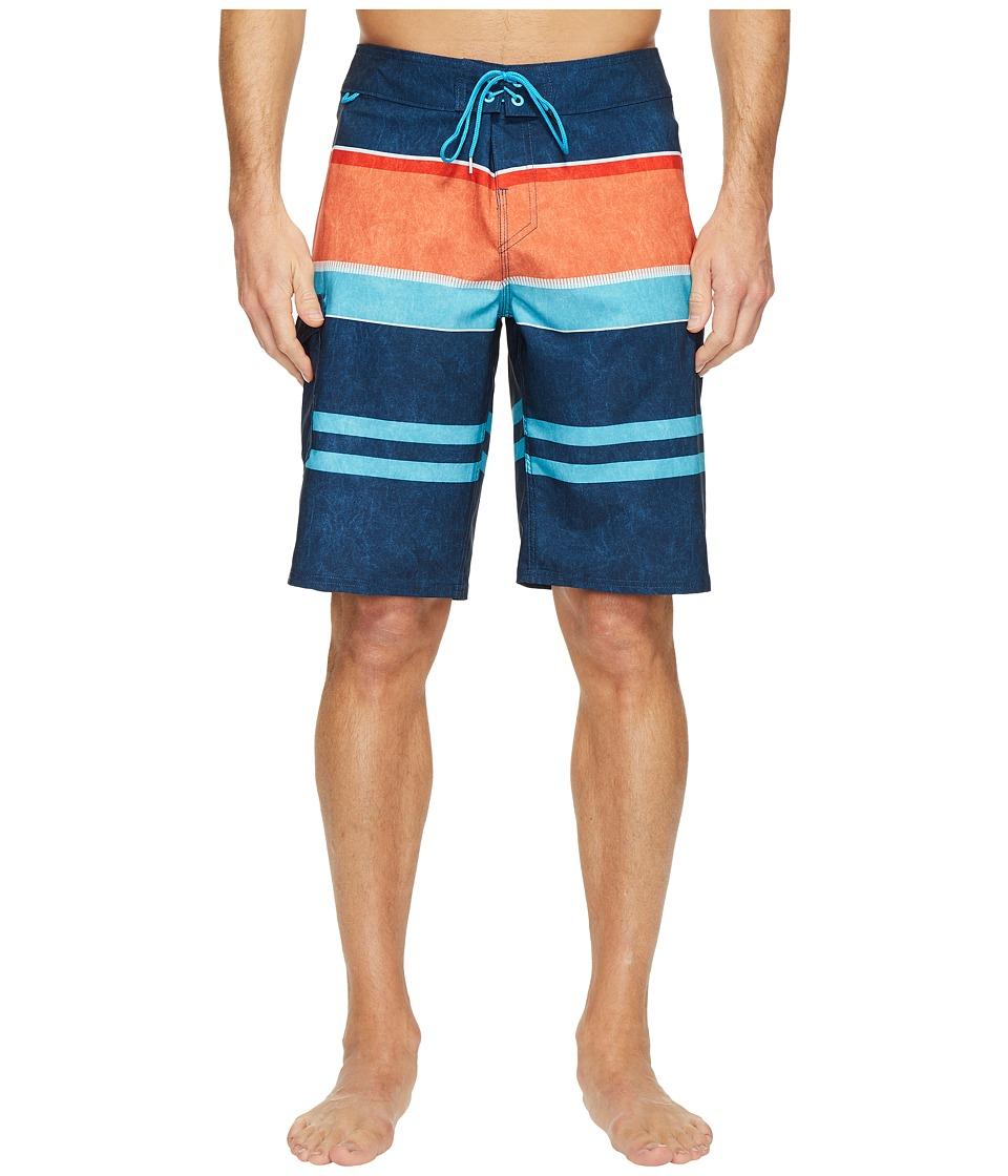 Reef Layered Boardshorts (Navy) Men