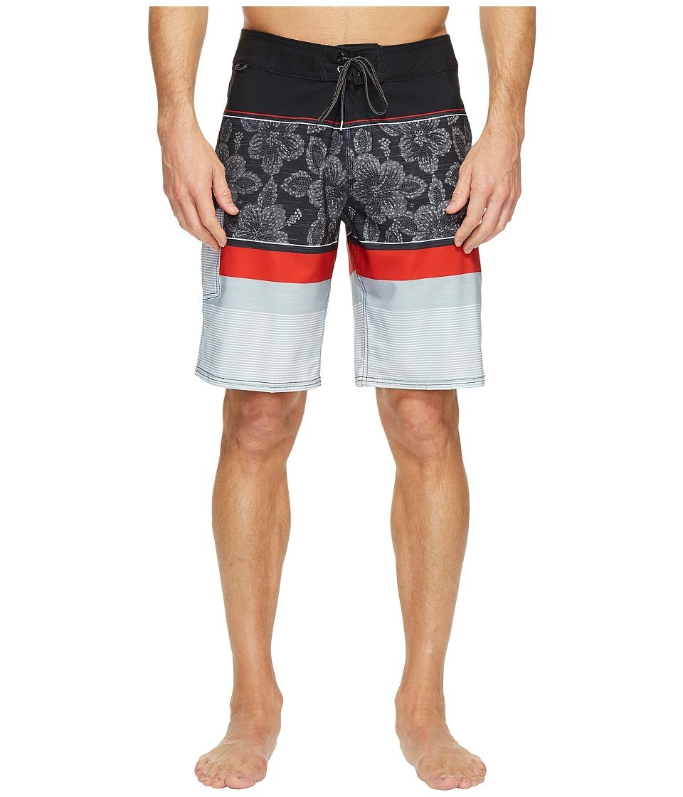 Reef Malifloral Boardshorts (Black) Men