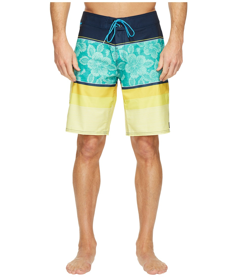 Reef Malifloral Boardshorts (Blue) Men