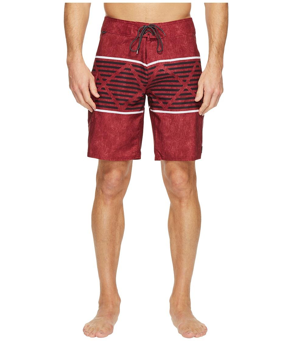 Reef Atlanta Boardshorts (Maroon) Men