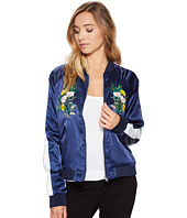 ROMEO & JULIET COUTURE - Floral Bomber Jacket