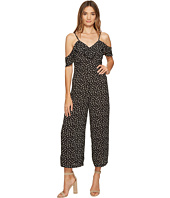 ROMEO & JULIET COUTURE - Ruffle Sleeves Floral Printed Jumpsuit