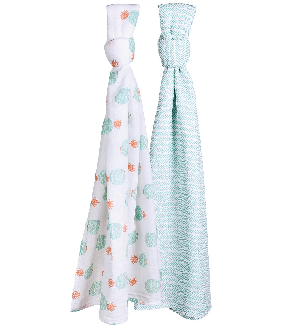 Bebe au Lait - Muslin Swaddle Set (Zigzag/Oahu) Accessories Travel