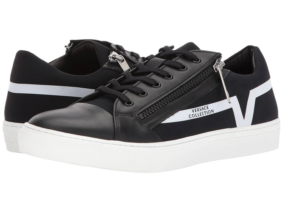 Versace Collection - Zippered Low Top
