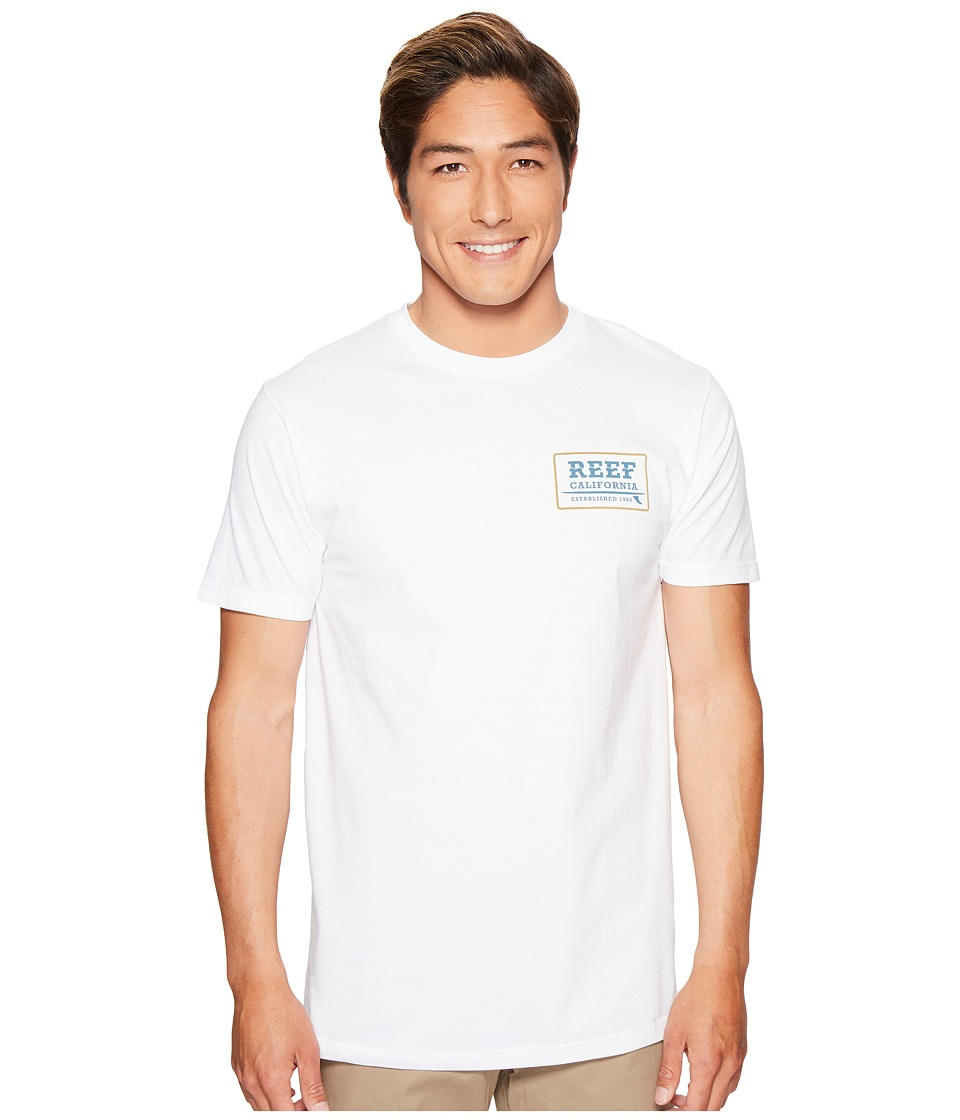 Reef Supply Tee (White) Men