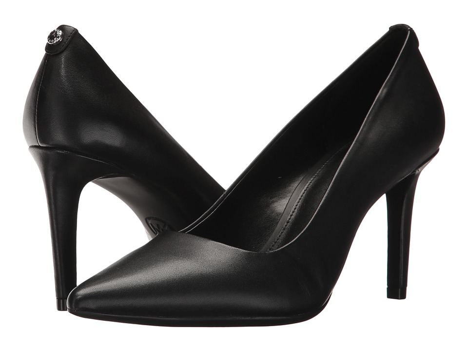 MICHAEL Michael Kors Dorothy Flex Pump (Black Smooth Calf) Women's Shoes
