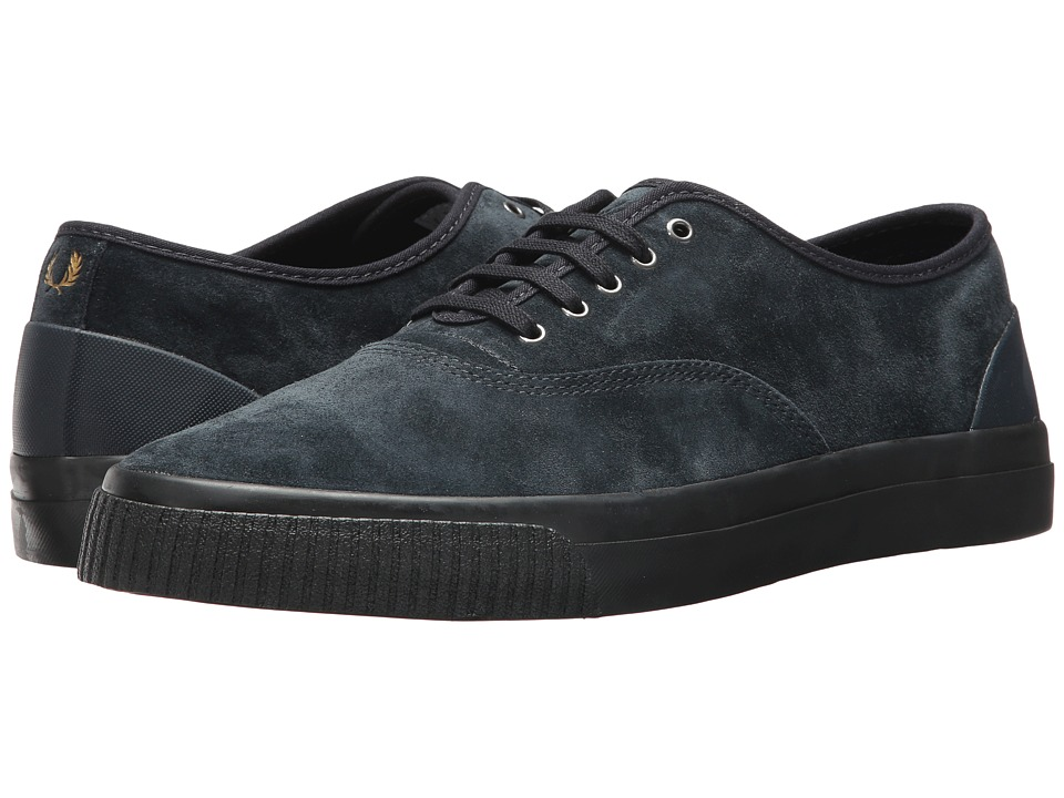 Fred Perry Barson Suede (Navy/Black) Men
