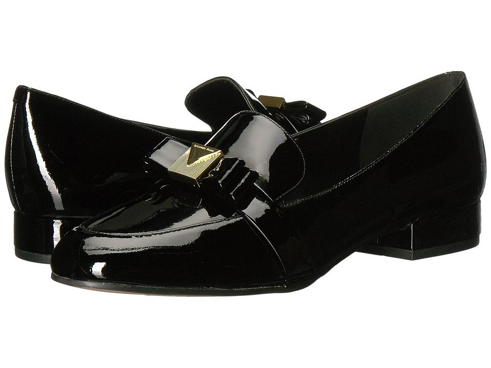MICHAEL Michael Kors Caroline Loafer (Black Patent) Women