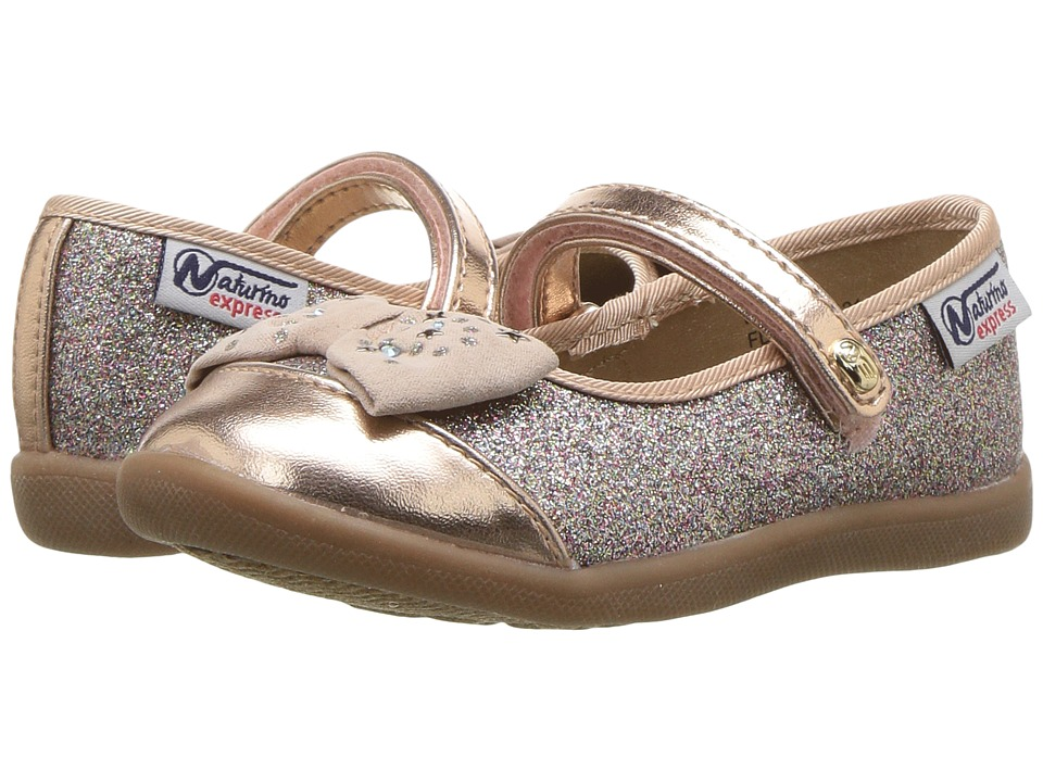Naturino Express Luciana (Toddler/Little Kid) (Rose Gold) Girls Shoes