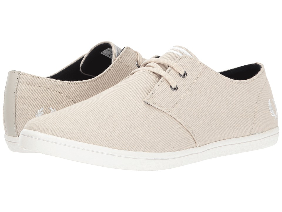 Fred Perry Byron Low Twill (Natural/Snow White) Men
