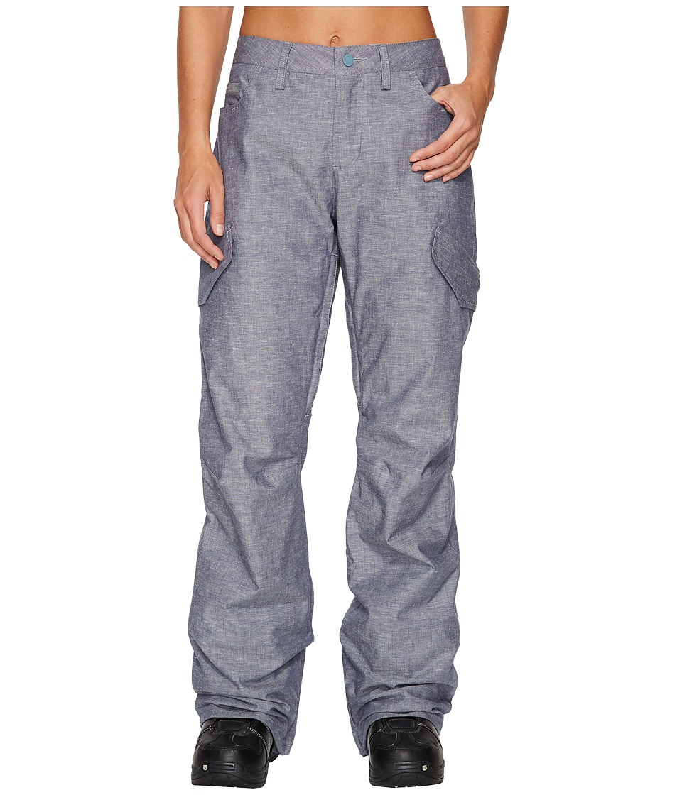 Burton - Fly Pant (Chambray) Womens Casual Pants