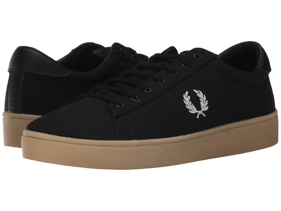 Fred Perry Spencer Canvas (Black/Porcelain) Men