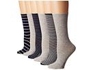 LAUREN Ralph Lauren - Stripe Roll Top Trouser 6-Pack